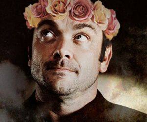 crowley, flower crown, and spn image