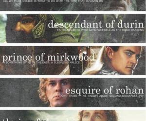 aragorn, Legolas, and gandalf image