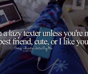 text, cute, and Lazy image