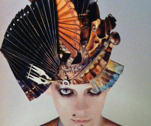 avant-garde, fashion, and hat image