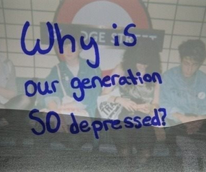 depressed, generation, and quotes image