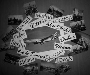 new york, paris, and travel image