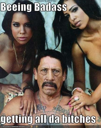 badass, danny trejo, and Hot image