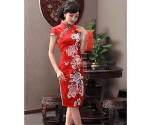 Prom, wedding, and chinese qipao image