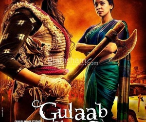movie review, bollywood movie review, and gulaab gang movie review image