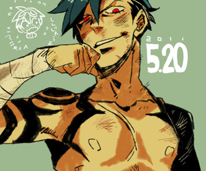 anime, kamina, and sexy image