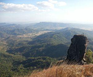hiking, trek, and mountain image