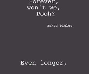 friends, piglet, and forever image