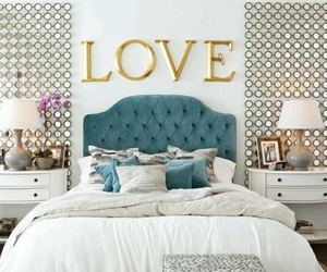 bedroom, love, and room image