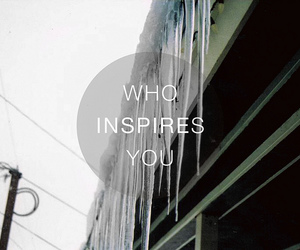inspire and text image