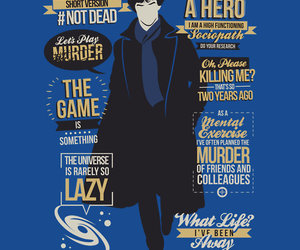 holmes, quotes, and sherlock image