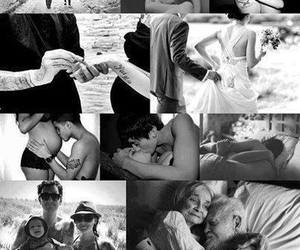 black and white, Relationship, and perfect image