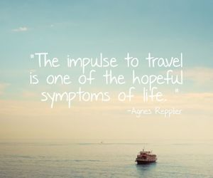 travel, life, and impulse image