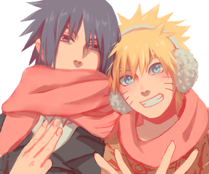 naruto, winter, and coldness image