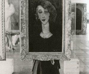 art, modigliani, and painting image