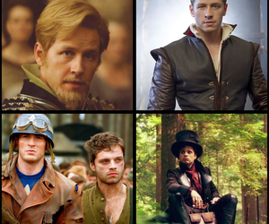 bucky, captain america, and charming image