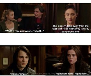 funny, vampire academy, and rose hathaway image