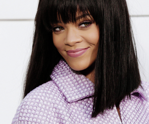 rihanna, navy, and smile image