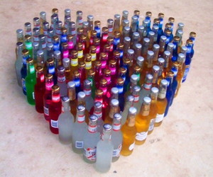 heart, alcohol, and party image