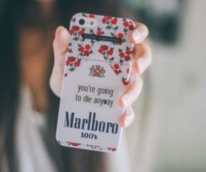 cover, marlboro, and love image