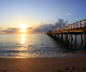 beach, beautiful, and sun image