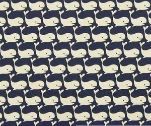 pattern, wallpaper, and whale image