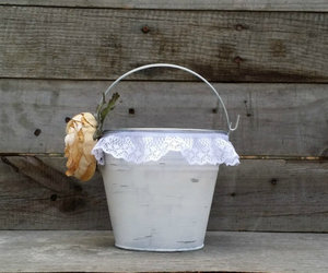 bucket, etsy, and flower image