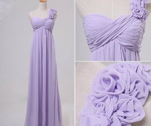 dress, Prom, and cheap bridesmaid dress image