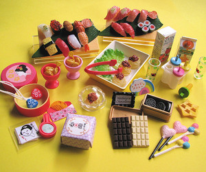 candy, chocolate, and figures image