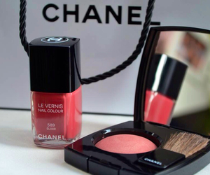 chanel, makeup, and nail image