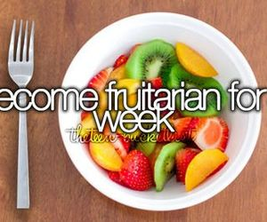 fruitarian and fruit image