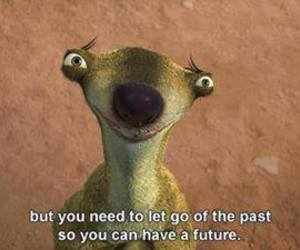 quotes, past, and ice age image