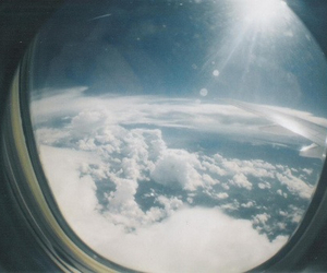 sky, clouds, and window image