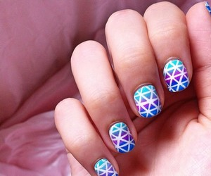 nails, love, and pretty image