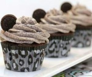 cupcake, oreo, and chocolate image
