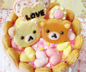 food, rilakkuma, and cute image