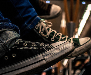 converse, hipster, and landscape image