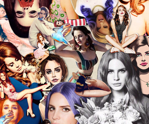 Collage, glamour, and fashion image