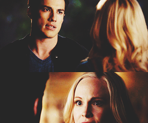 couple, the vampire diaries, and candice accola image