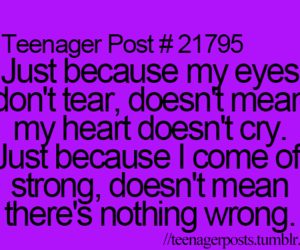 true, cry, and quote image