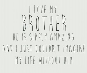 amazing and brother image