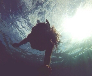 me, sea, and water image