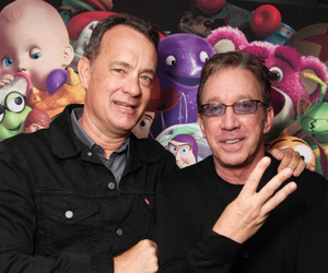 tom hanks, toy story, and tim allen image