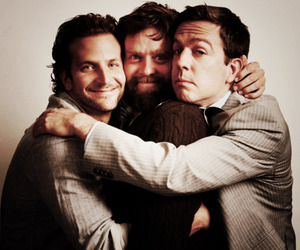bradley cooper, Zach Galifianakis, and hangover image
