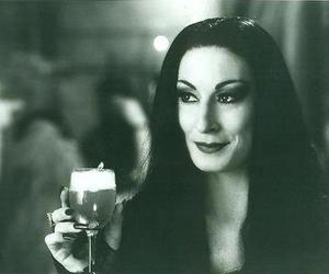 drink and morticia image