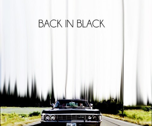 supernatural, ACDC, and impala image