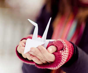 origami and bird image
