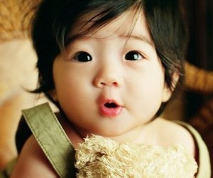 baby, cute, and asian image