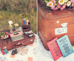 books, photography, and picnic image