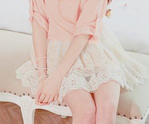 fashion, pink, and kfashion image